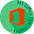 msoffice globe badge